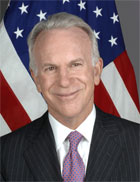 Former BBG Chairman James K. Glassman, now Under Secretary of State for Public Affairs, supports termination of Voice of America radio broadcasts to Russia.