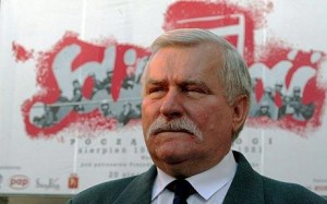 Lech Walesa, image from OER article