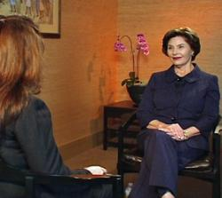 laura_bush_VOA_Afghan_interview