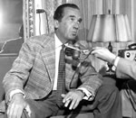 Edward R. Murrow, 1956 photo.